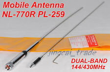 NL-770R 97cm Long DUAL BAND Antenna PL259 for Car Radio Yaesu Icom Kenwood Moto
