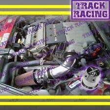 1994 1995/94 95 PONTIAC GRAND PRIX ALL 3.4 3.4L V6 AIR INTAKE KIT+CHF Black Red