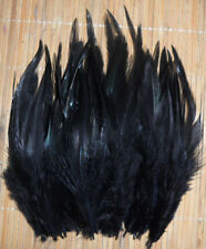 "Fly Tying Saddle Hackle feathers 4-6""  25 bag 10cols pike bass streamers"