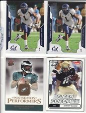 DeSean Jackson Rookie Card Lot Upper Deck - Eagles + 2 Bonus Cards McNabb Bloom