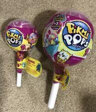 Pikmi Pops Surprise Plush Scented 1 Medium & 1 Small NEW Moose Toys Lollipop