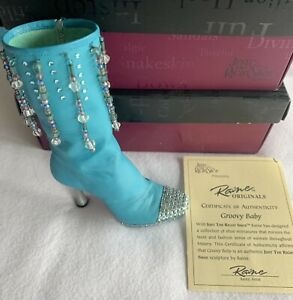 """Just the Right Shoe Raine Originals """"Groovy Baby"""" Item 25102 With Box and COA"""