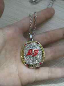 2020 Tampa Bay Buccaneers #1 Necklace Championship Inspired