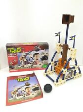 Fisher Price Trio Building Blocks Hammerpult 45 pieces Complete With Box Castle