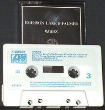 Emerson Lake & Palmer Works Volume 1 CASSETTE 2 ALBUM  ONLY Atlantic K 480009