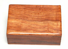 """PLAIN Wooden Carved Tarot Box Wicca Pagan 4 X 6"""" inchs FREE SHIPPING Jewerly box"""