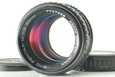 【 EXC+5 】 PENTAX SMC Pentax M 85mm f/2 Manual Lens For K Mount from Japan #518