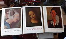 3 Vol LA PEINTURE ITALIENNE  I ED. SKIRA 1950