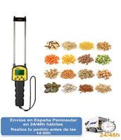 Medidor digital smart sensor humedad semillas higrometro + sonda (Envio express)