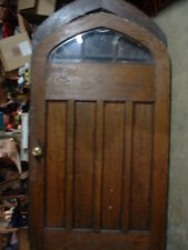 Arched Door w/glass 115 years old