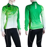 Womens Cycling Bike Long Sleeve Bicycle Breathable Jerseys Pants Riding Clothing