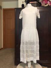 Antique  Vintage 1920 Flapper Dress
