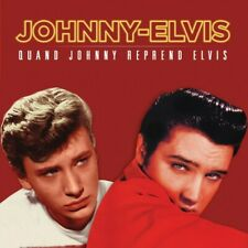 Johnny Hallyday & Elvis Presley - Quand Johnny Reprend Elvis - Picture Disc Roug