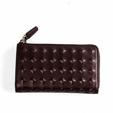 100% Authentic MCM Women Wallet Purse in Modern Style Red Wine MYM4AVH02RG001