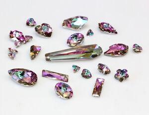 Genuine SWAROVSKI Crystal Vitrail Light Color Pendants * Many Shapes & Sizes