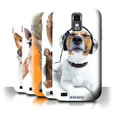STUFF4 Back Case/Cover/Skin for Samsung Galaxy S2 Hercules/T989/Funny Animals