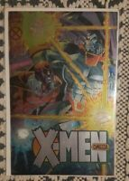 Marvel - X-Men - Omega June 1995 Special Event Chromium Cover Comic Book