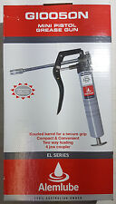 ALEMLUBE - MINI PISTOL GREASE GUN - GI0050N - EL SERIES - NEW IN BOX - RRP $53