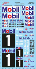 Petroleum products  09-2  MOBIL sponsors Decal 1/18 (195x100 mm) PP09-18-2