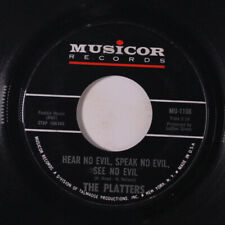 PLATTERS: Don't Hear, Speak, See No Evil / I Love You 1000 Times 45 Soul
