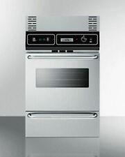 Brand New Summit Tkw700Ss Wall Oven Trim Kit - Stainless Steel In An Open Box!