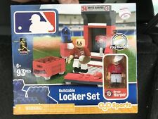 New Nationals BRYCE HARPER Buildable Lego MLB Locker Room Set 93 Pieces VHTF