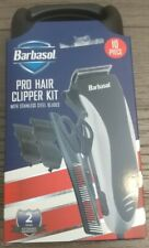 Barbasol Pro Hair Clipper Kit w/ Stainless Steel Blades (10 Piece) Free Shipping