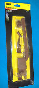 STANLEY BRONZE FINISH RIGHT HAND CASEMENT WINDOW OPERATOR
