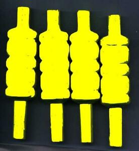 HiVis Bails (Adult Wooden) - POST FREE worldwide economy
