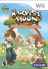 Harvest Moon: Tree of Tranquility WII New Nintendo Wii