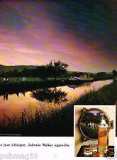 Publicité advertising 1990 Scotch Whisky Johnnie Walker Red Label