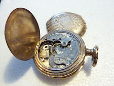 1897 Antique Elgin Pocket Watch #7520455 15 Jewel**PARTS AND REPAIR**