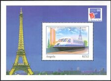 Angola 1999 Philex France/Trains/Locomotive/Railways/Rail/StampEx  m/s (n15831b)