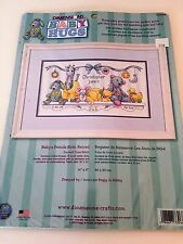 Dimensions Baby's Friend Birth Record Counted Cross Stitch Kit #73086 NEW