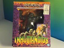 VINTAGE INHUMANOIDS ACTION FIGURE NIB BOX HASBRO 1986 MAGNOKOR GRAY EVIL WITHIN