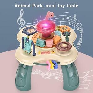 Baby Learn Activity Table Toddler Early Education Musical Toy w/ Lights&Melodies