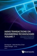 Iaeng Transactions on Engineering Technologies Volume 7 - Special Edition of...