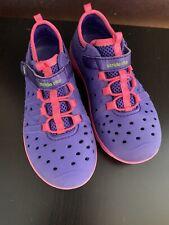 Stride Rite Phibian Made 2 Play Girls Size 12 Purple Pink Euc