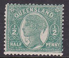 Queensland ^sc# 103 mint Lh Victoria Classic $@ ha874que