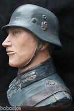 Buste d'un Soldat Allemand sur socle