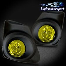 For 2011 2012 2013 Toyota Corolla Yellow Bumper Fog Lights w/Wiring&Switch Pair