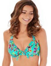 Lepel Swim Sunset Halter Bikini Top 57561 Blue 34c