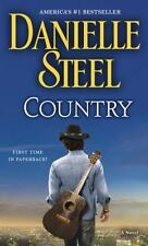 Country by Danielle Steel (English) Mass Market Paperback Book- NEW