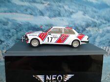 1/43  NEO BMW E21 320i BMW France #17-Timo Makinen Rallye Monte Carlo 1980