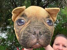"""Beautiful French Bulldog Bull Dog Puppy 11"""" Soft Plush Stuffed Animal Pillow"""