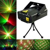 Mini R&G Laser Light Lighting Lamp Projector DJ Disco Stage Show Club Bar #A U^