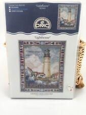 "New DMC Lighthouse Counted Cross Stitch Kit K3336US 8"" x 10"""