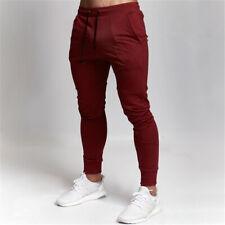 Para Hombre Pantalones De Chándal Entrenamiento Pantalones De Ejercicio Fitness Entrenamiento Deporte Algodón Pantalones
