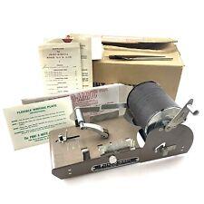 Excellent PRINT O MATIC STENCIL DUPLICATOR A2G Vtg Card Mimeograph NOS Antique