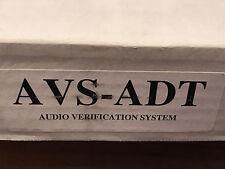 Honeywell Audio Verification System AVS-ADT Base Unit w/Remote Station